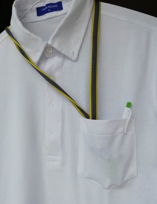 クールビズ向けの涼しいポロシャツ