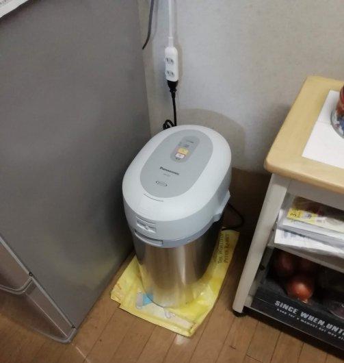 消臭能力が強化された生ゴミ処理機